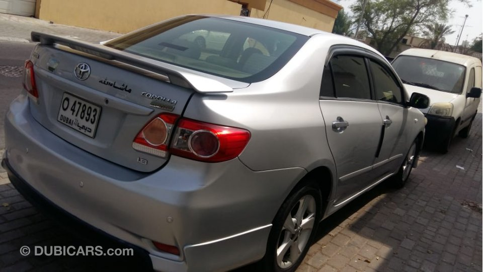 Toyota Corolla Sport Model 1 8l For Sale Aed 20 000