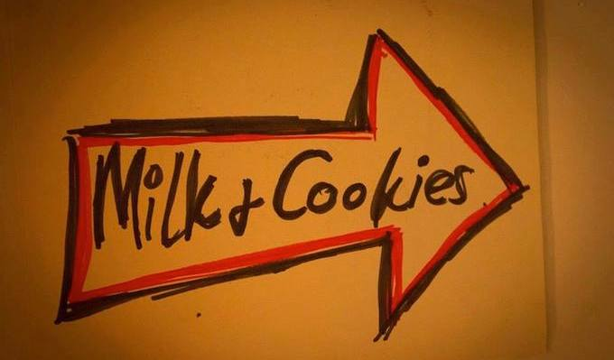 This way for Milk and Cookies!