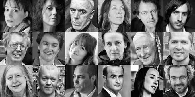 Some of the invited writers at the Franco-Irish Literary Festival 2014