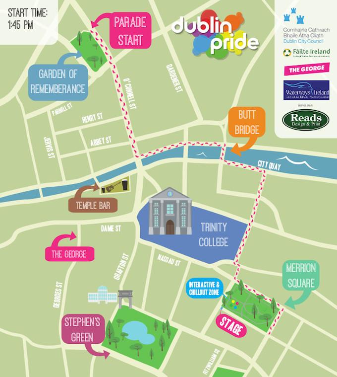 Pride Parade Dublin 2014