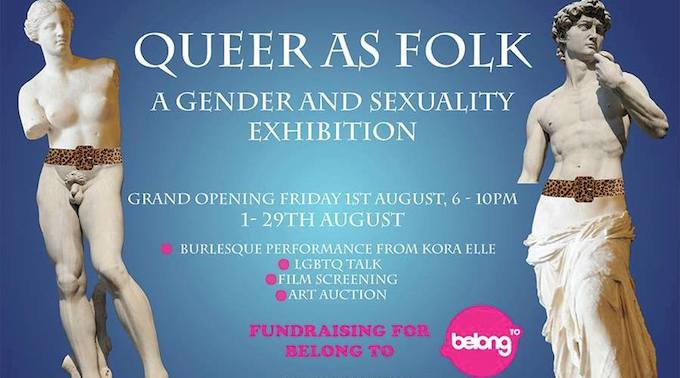 Queer As Folk exhibition in White Lady Art