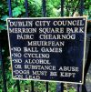 Merrion Square in Dublin