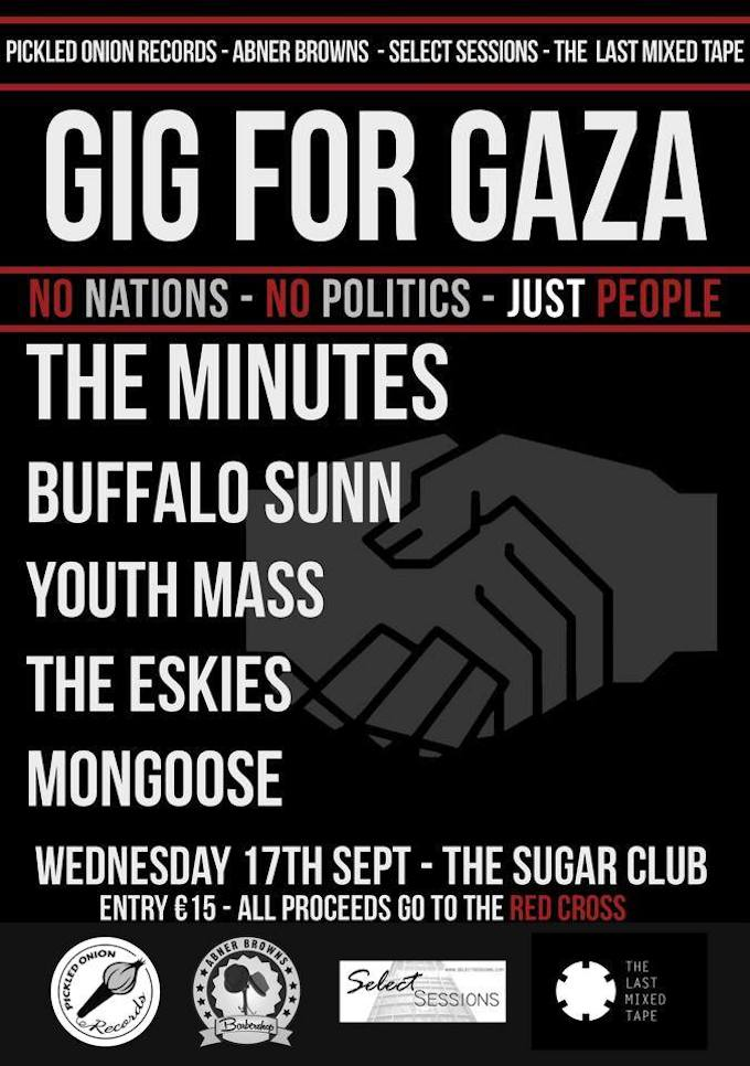 Gig for Gaza in Dublin