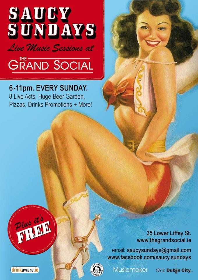 Saucy Sundays at The Grand Social