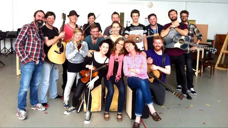 one the musical cast in dublin