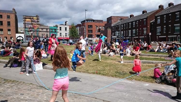 Smithfield Summer Picnics in Dublin