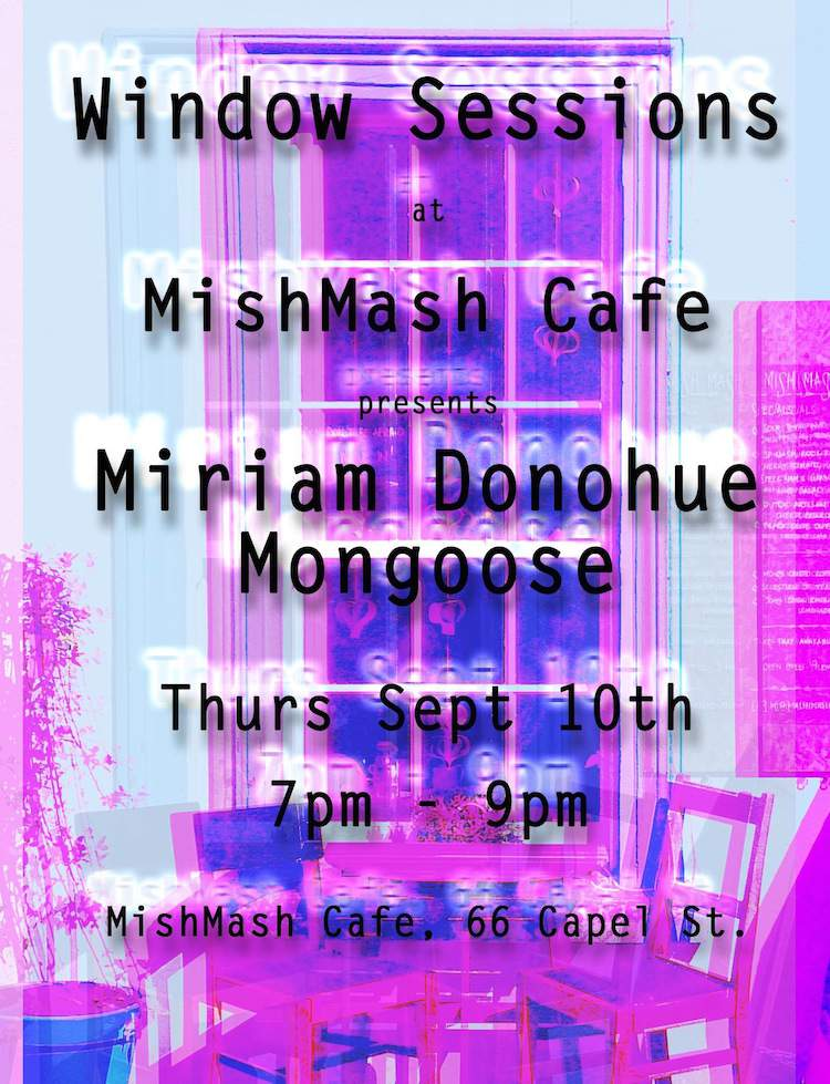 Window Sessions @ MishMash September 2015