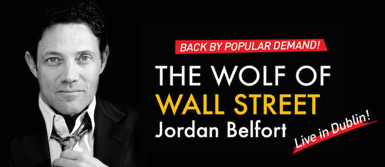 Jordan Belfort in Dublin 2015