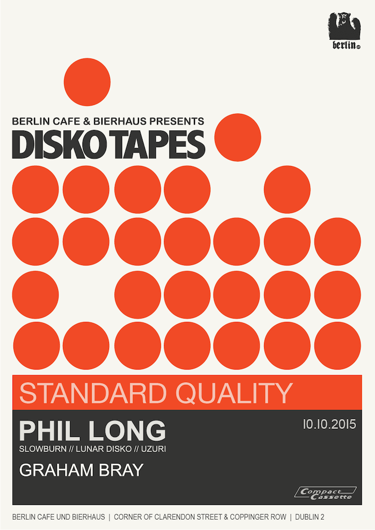 Disko Tapes 10 Oct 15