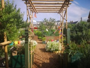 Community Garden access in the summer