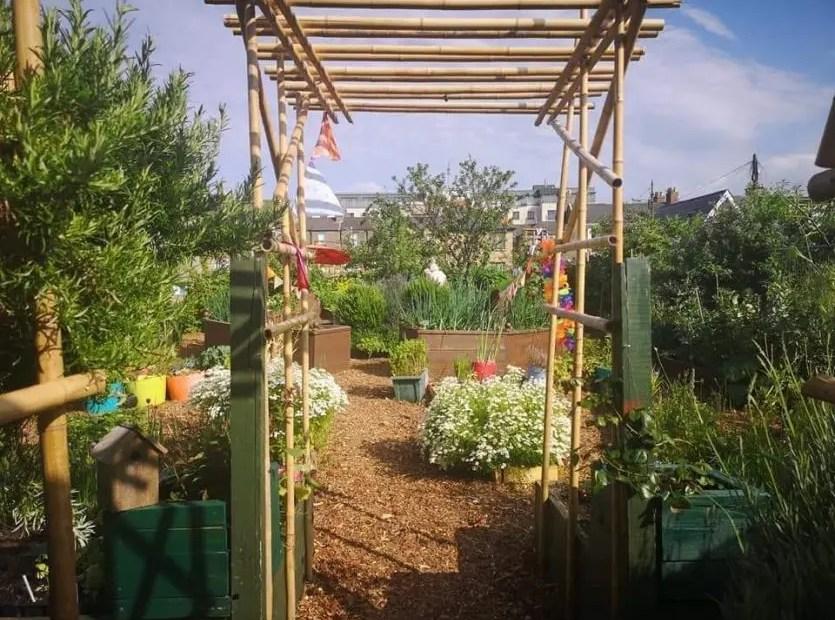 Community Garden access in the summer