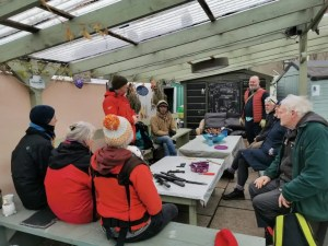 Winter prunning workshop participants Group February 2020