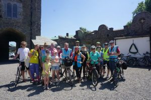Food Cycle group picture in Drimnagh Castle