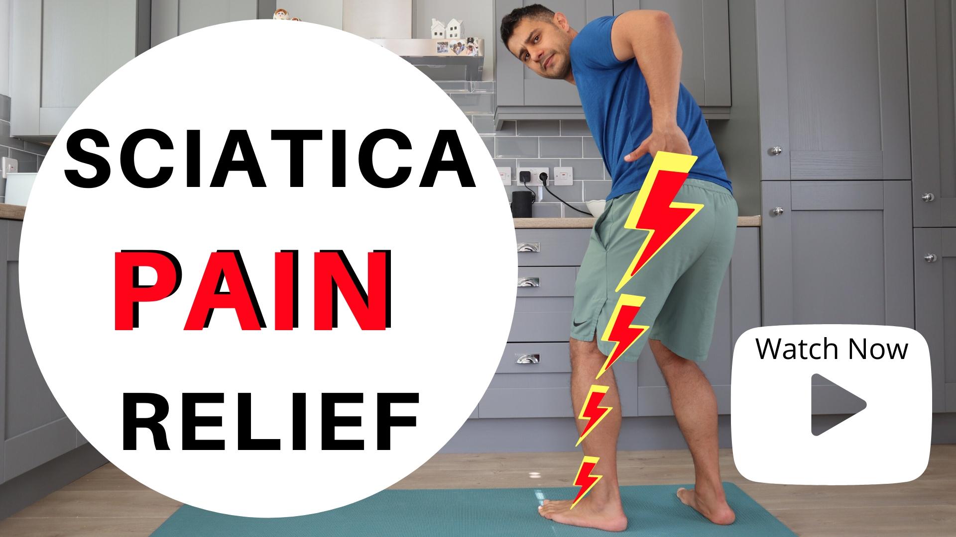 TOP EXERCISES FOR SCIATICA PAIN RELIEF