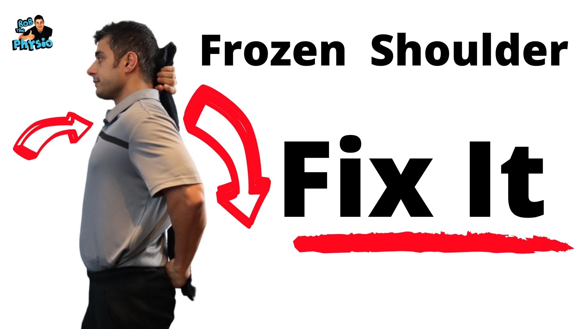 Frozen Shoulder Treatment and Managment