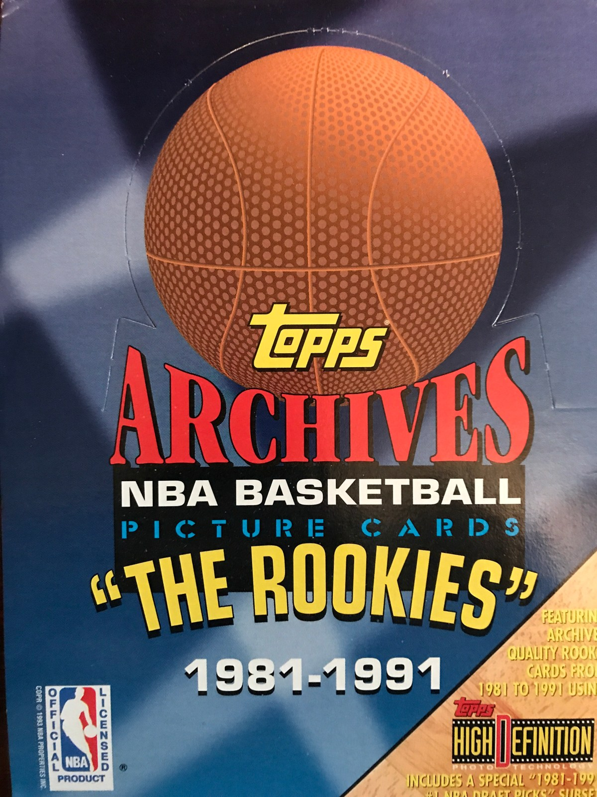Topps Archives From The Hardwood