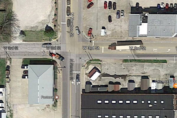 Newton and 3rd intersection to close for two days for continued work