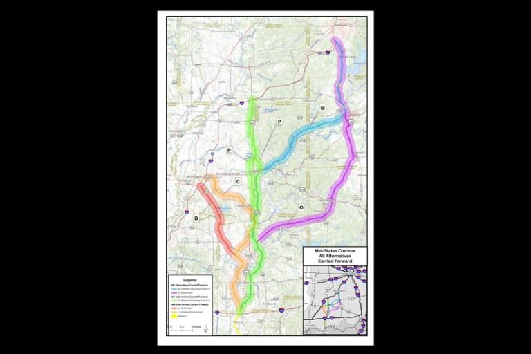 Mid-States Corridor meetings this week