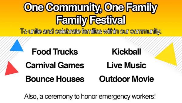 Family Festival includes food, faith and fun
