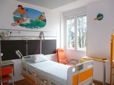 IHOP-Lyon-hopital-jour-decoration-fresque-mur-porte-albert-clementine-cesar-rosalie-2