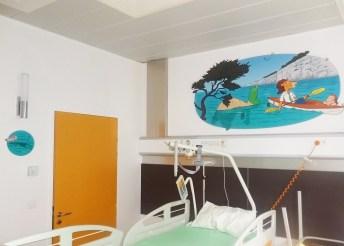 IHOP-Lyon-hopital-jour-decoration-fresque-mur-porte-albert-clementine-cesar-rosalie-4