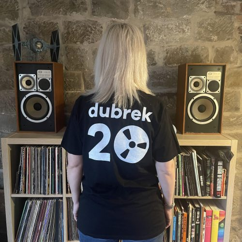 Dubrek Limited Edition 20th Anniversary T-Shirts now in stock!
