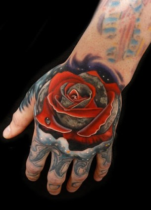 red moon tattoo - photo #39