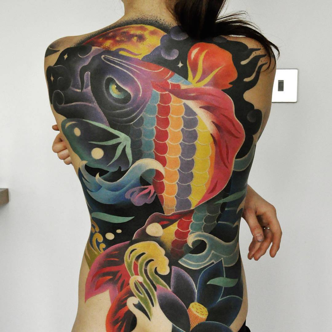 Psychedelic River Tattoo Best Tattoo Ideas Gallery