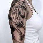Shoulder Tattoo Horse Best Tattoo Ideas Gallery
