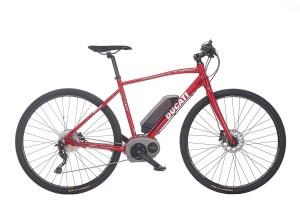 "Električno treking kolo Ducati E-Sport 28"" – Ducati rdeča"