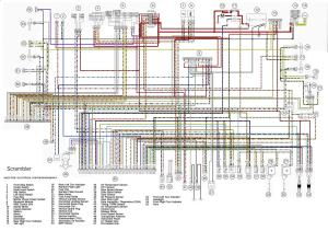 Coloured Wiring Diagram  Ducati Scrambler Forum