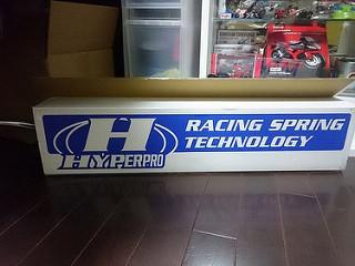 HYPER PRO サスペンションスプリング フロントスプリング/フルードセット:1098/848 07-08