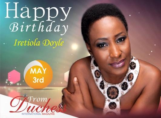 Iretiola Doyle Birthday wish