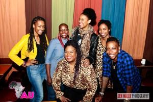 April 7, 2016 - Sisters of Comedy featuring comedians Agunda Okeyo, Gina Yashire, Kerry Coddett, Joyelle Johnson, Franchesca Ramsey, Sasheer Zamata, Yamaneika Saunders at Caroline's in NYC credit Jen Maler