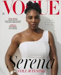 Serena Williams Covers British Vogue