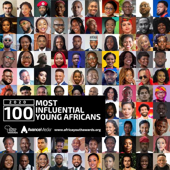 100 Most Influential Young Africans 2020 List