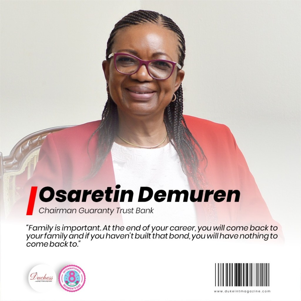Osaretin Demuren: Chairman Guaranty Trust Bank