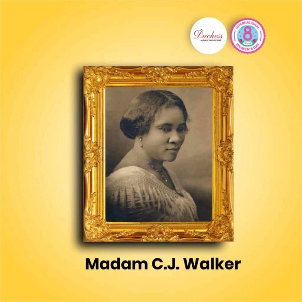 Madam C.J. Walker: The earliest black self-made female millionaire