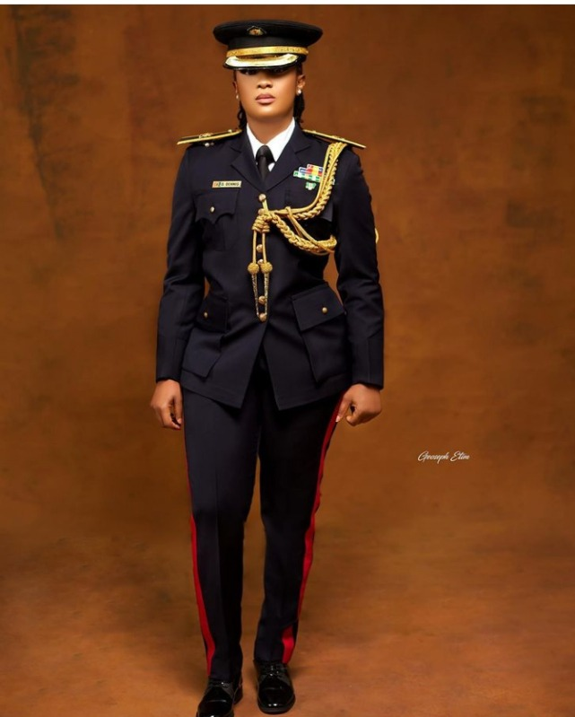Fire fighter Dooshima Dennis