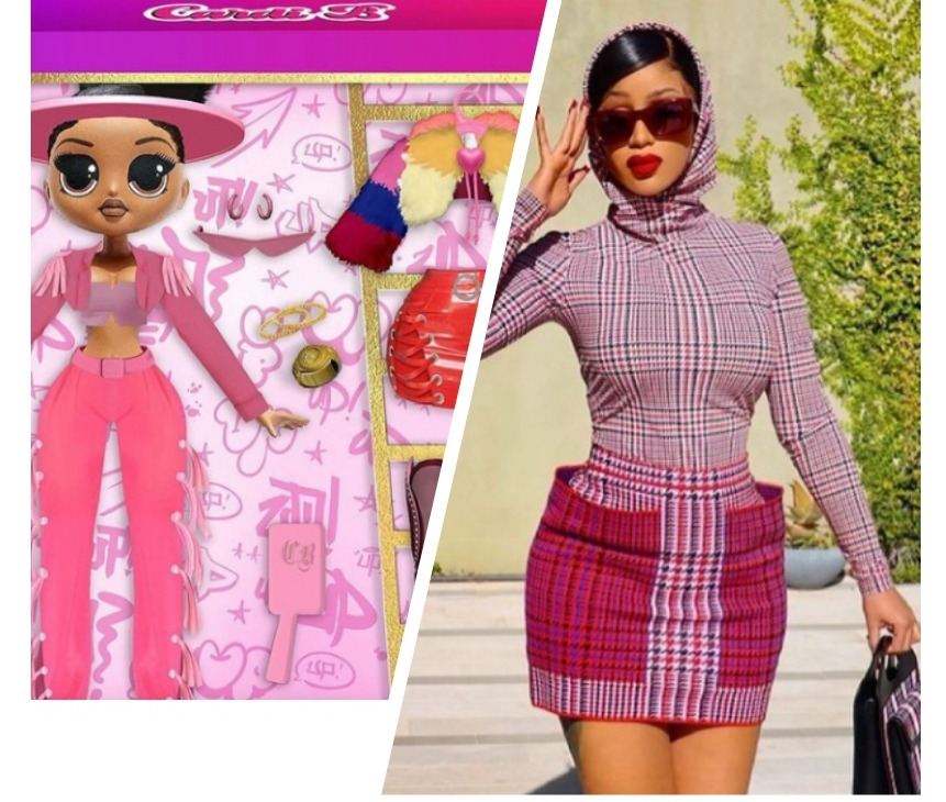 Cardi B launches own doll
