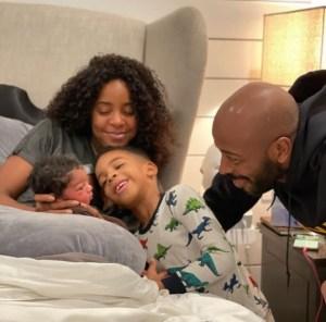 Kelly Rowland and family