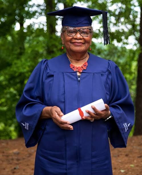 78 Year Old Great-Grandmother Fulfils Life-long Dream; Bags College Degree!
