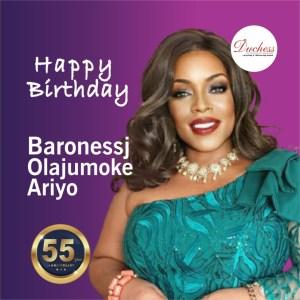 Baronessj Olajumoke Ariyo, Founder/ CEO Sistas & Divas,
