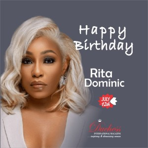Happy Birthday Rita Dominic
