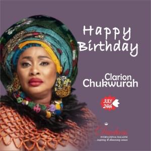 Happy Glorious Birthday Veteran Nigerian Actress Clarion Chukwura