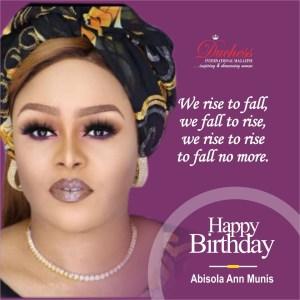 Celebrating Top Politician And Socialite Abisola Ann-Munis