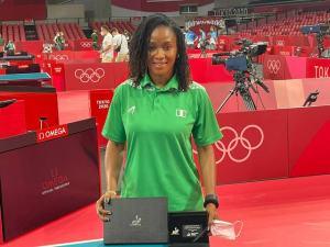 Tennis champ Funke Oshonaike