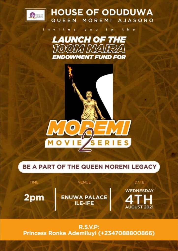 Moremi Exclusive Premiere Set To Takes Center Stage!