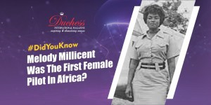 #DidYouKnow Melody Millicent Danquah: The First Ever Female Pilot In Africa?
