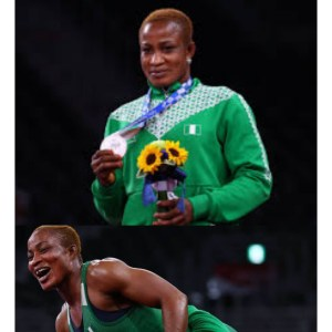 #TokyoOlympics Blessing Oborududu Clinches Sliver; Rewrites History With Nigeria's First Ever Win In Wrestling!
